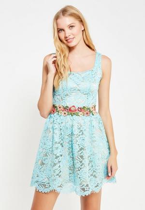 Платье Rinascimento. Цвет: бирюзовый