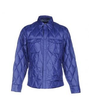 Пуховик BPD BE PROUD OF THIS DRESS. Цвет: фиолетовый