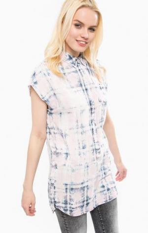 Платье из хлопка прямого кроя Juicy by Couture. Цвет: розовый