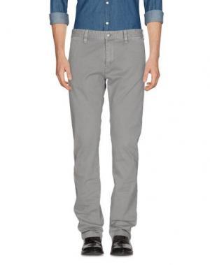 Повседневные брюки RA-RE. Цвет: серый