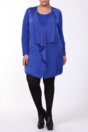 Платье Maxima. Цвет: синий