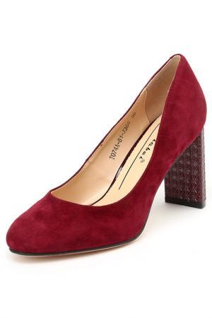 Туфли Carlabei. Цвет: бордовый