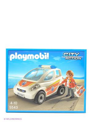 Конструктор Машина первой помощи Playmobil. Цвет: белый