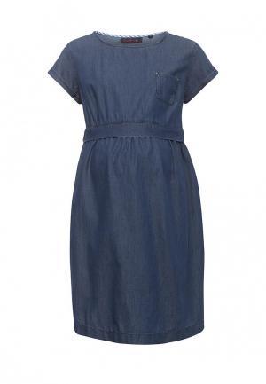 Платье джинсовое Budumamoy. Цвет: синий