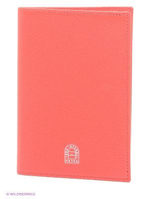 Обложка на паспорт Petek. Цвет: красный