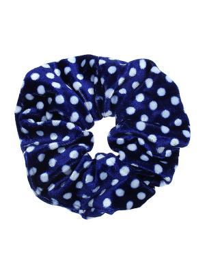 Резинка для волос Olere. Цвет: синий, белый