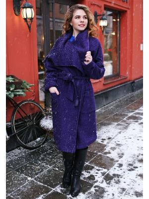 Пальто po Pogode. Цвет: фиолетовый