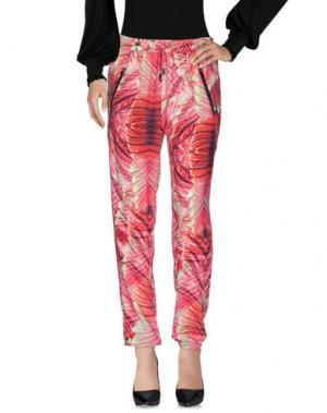 Повседневные брюки CUSTO BARCELONA. Цвет: красный