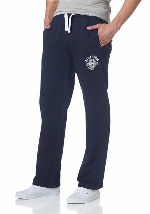 Спортивные брюки MANS WORLD MAN'S. Цвет: темно-синий