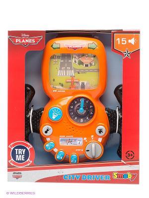 Игровой набор Руль-штурвал: Самолеты Smoby. Цвет: оранжевый, черный