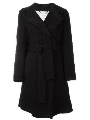 Пальто с поясом Tender Texture Dorothee Schumacher. Цвет: чёрный