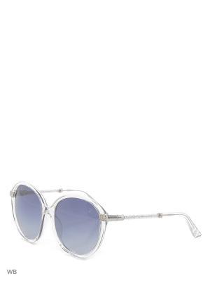 Солнцезащитные очки SK 0044 26B Swarovski. Цвет: прозрачный, серебристый