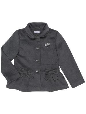 Пальто Born. Цвет: темно-серый