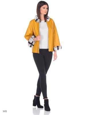 Куртка MONDIAL. Цвет: горчичный