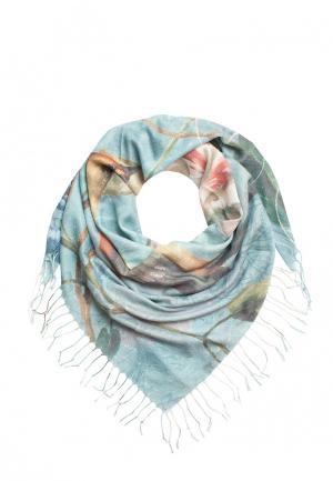 Платок Le Motif Couture. Цвет: голубой