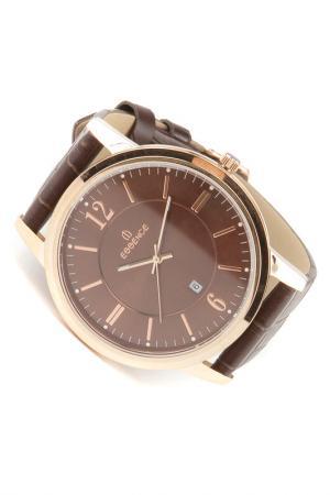 Наручные часы Essence. Цвет: розовый, коричневый