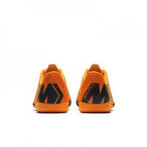 Футбольные бутсы для игры в зале/на крытом поле дошкольников/школьников  Jr. MercurialX Vapor XII Academy Nike. Цвет: оранжевый