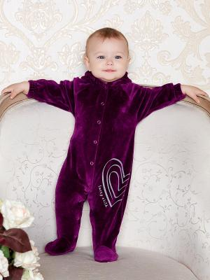 Комбинезон Lucky Child. Цвет: фиолетовый