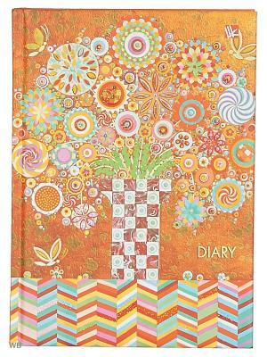 Ежедневник недатированный А5. Графика. Волшебное дерево Канц-Эксмо. Цвет: оранжевый