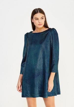Платье Free People. Цвет: синий