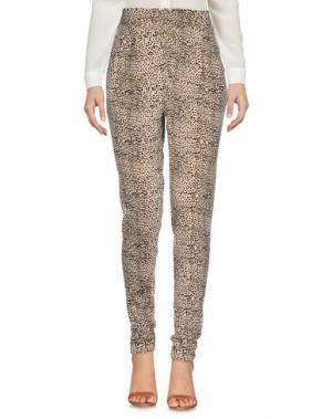 Повседневные брюки AMUSE SOCIETY. Цвет: бежевый