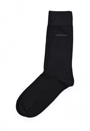 Комплект носков 2 пары Boss. Цвет: черный