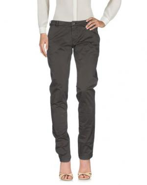 Повседневные брюки MURPHY & NYE. Цвет: темно-коричневый