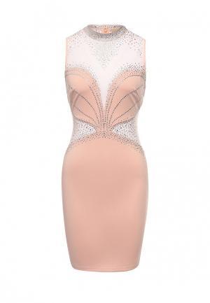 Платье Soky & Soka. Цвет: розовый