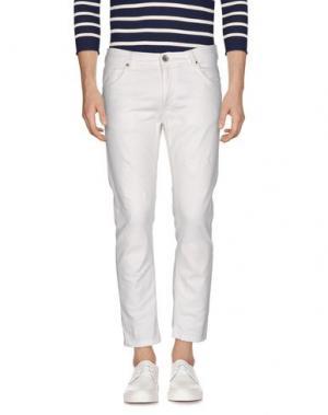Джинсовые брюки JEORDIE'S. Цвет: белый