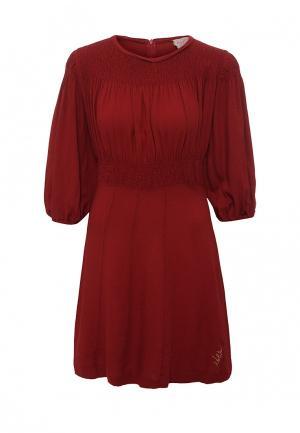 Платье Nolita. Цвет: красный