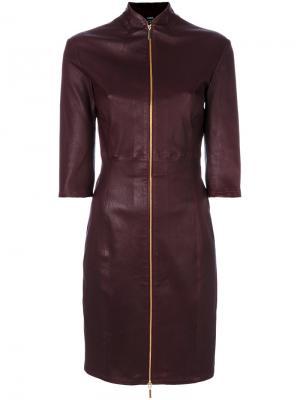 Платье Jessica Arma. Цвет: красный