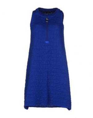 Короткое платье NEERA. Цвет: синий