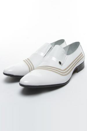 Туфли Etor. Цвет: белый