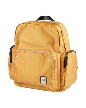 Рюкзаки и сумки на пояс DIESEL. Цвет: охра