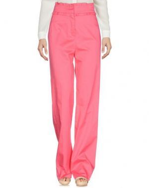 Повседневные брюки TENAX. Цвет: фуксия