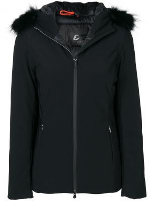 Куртка из овечьей шерсти на молнии Rrd. Цвет: чёрный