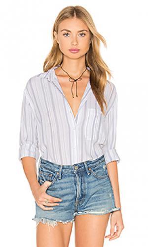 Рубашка на пуговицах daniella Rails. Цвет: белый