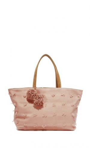 Объемная сумка с короткими ручками Blossoms Deux Lux