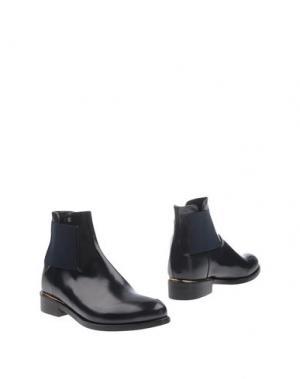 Полусапоги и высокие ботинки RÊVE D'UN JOUR. Цвет: темно-синий