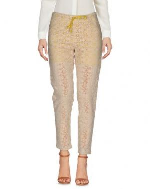 Повседневные брюки M!A F. Цвет: песочный