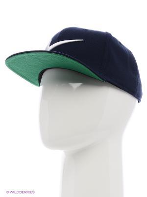 Бейсболка SWOOSH PRO - BLUE Nike. Цвет: темно-синий, белый