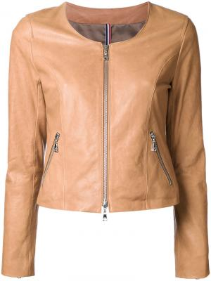 Куртка на молнии Guild Prime. Цвет: коричневый