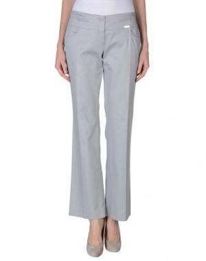 Повседневные брюки DON'T MISS YOUR DREAMS. Цвет: серый