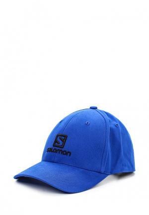Бейсболка Salomon. Цвет: синий