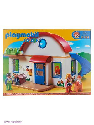 Пригородный Дом Playmobil. Цвет: белый, красный