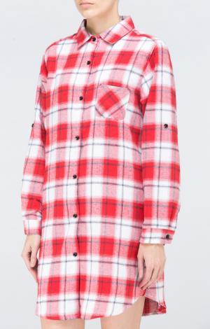 Платье-рубашка Красное Trends Brands