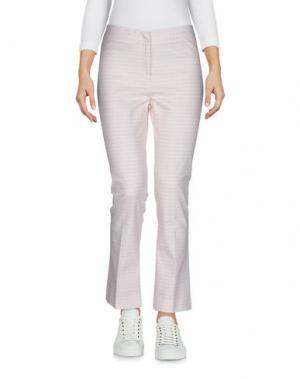 Повседневные брюки FUNNY FACE. Цвет: светло-розовый