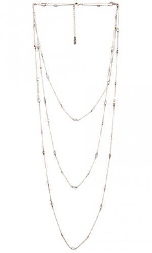 Ожерелье aphrodite SunaharA. Цвет: металлический серебряный