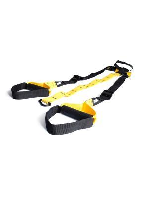 Набор петель для функционального тренинга Original FitTools. Цвет: черный, желтый