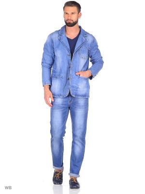 Куртка MOSSMORE. Цвет: голубой